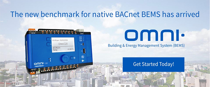 Discover Omni by Innotech. The new range of BEMS controllers